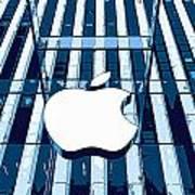 Apple In The Big Apple Art Print