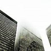 Architectural Photographs Of Business Art Print by David Wile