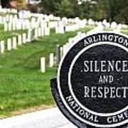 Arlington National Cemetery Part 1 Art Print