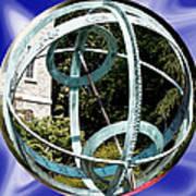Armillary Sphere Art Print