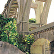 Arroyo Seco Bridge  Art Print