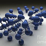 Arsenic Molecular Structure Art Print