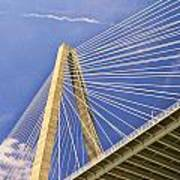 Arthur Ravenel Jr. Bridge 2 Art Print