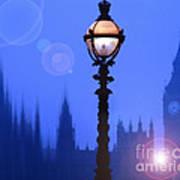 As Night Falls Art Print