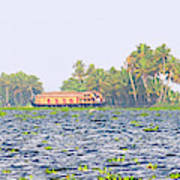 Asia, India, Kerala (backwaters Art Print