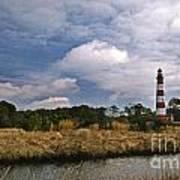 Assateague Island Lighthouse Art Print