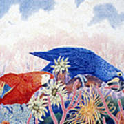 Astarte's Paradise IIi Art Print