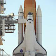 Atlantis Space Shuttle Art Print
