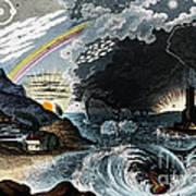 Atmospheric Effects 1846 Art Print