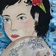 Audra Art Print by Karen Carnow