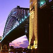 Australia, Sydney, Harbor Bridge Art Print