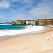Australian Beach Art Print