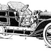 Automobile, 1907 Art Print
