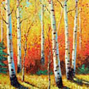 Autumn's Glow Art Print