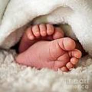 Baby Toes Art Print