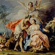 Bacchus And Ariadne Art Print