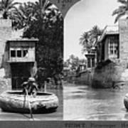 Baghdad Tigris, C1914 Art Print