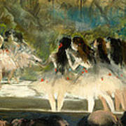 Ballet At The Paris Opera Art Print
