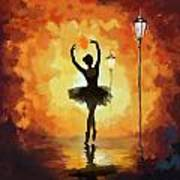 Ballet Dancer Art Print