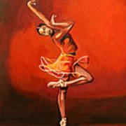 Ballet Lady Art Print
