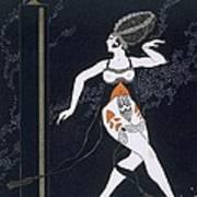Ballet Scene With Tamara Karsavina Art Print