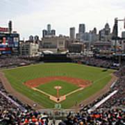 Baltimore Orioles V. Detroit Tigers Art Print