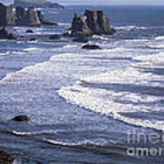 Bandon Beach Seastacks 4 Art Print