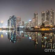 Bangkok By Night Art Print