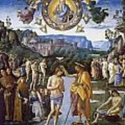 Baptism Of Christ Art Print