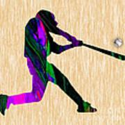 Baseball Art Print
