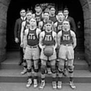Basketball Team, 1920 Art Print