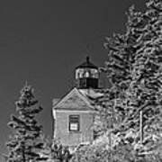 Bass Harbor Lighthouse Mount Desert Island Maine Art Print