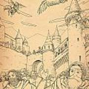 Battle At Unterwaldon Art Print