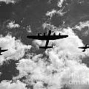 Battle Of Britain Memorial Flight Art Print