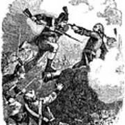 Battle Of Stony Point, 1779 Art Print by Granger