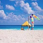 Beach Colors Art Print by Richie Stewart