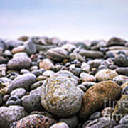 Beach Pebbles Art Print