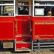 Beamish Tramways Art Print