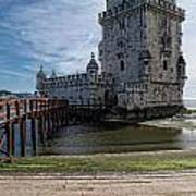 Belem Tower Art Print