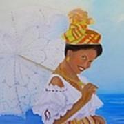 Belle Creole Art Print