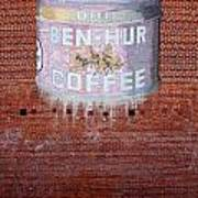 Ben Hur Coffee Art Print