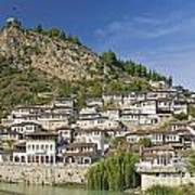 Berat Old Town In Albania Art Print