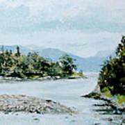 Berks Lake Art Print