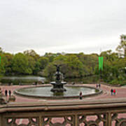 Bethesda Fountain Nyc Art Print