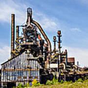Bethlehem Steel Mill Art Print