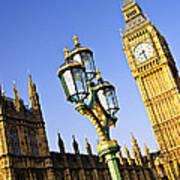 Big Ben And Palace Of Westminster Art Print