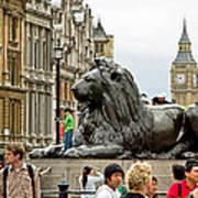 Big Lion Little Ben Art Print