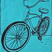 Bike 6 Art Print by William Cauthern