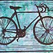 Bike 8 Art Print by William Cauthern