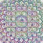 1 Billion Dollars Art Print